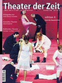 Theater der Zeit 12/2003