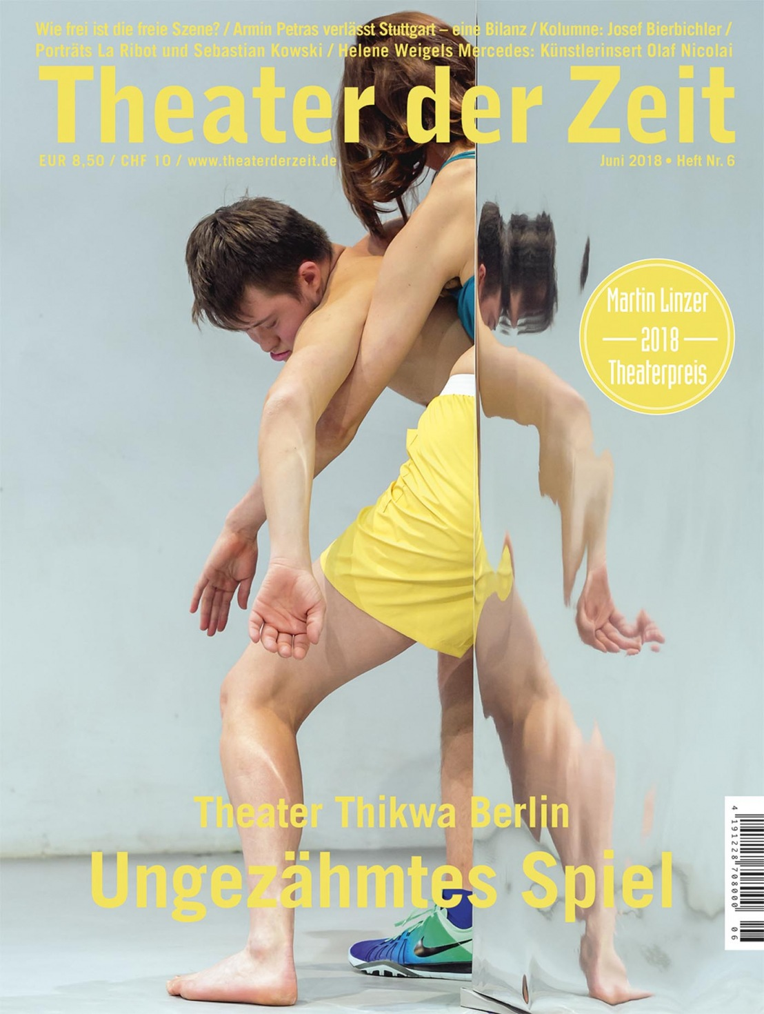 Theater der Zeit 6/2018
