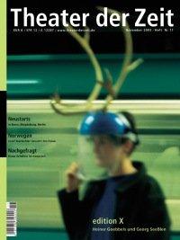 Theater der Zeit 11/2003