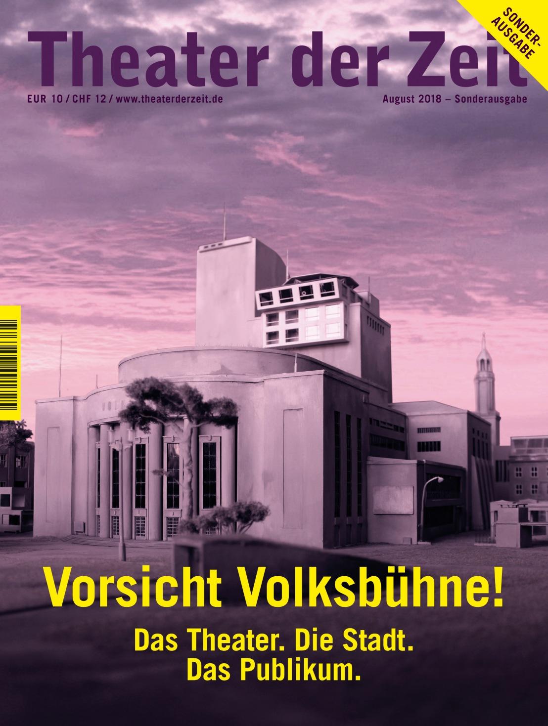 Theater der Zeit 08/2018