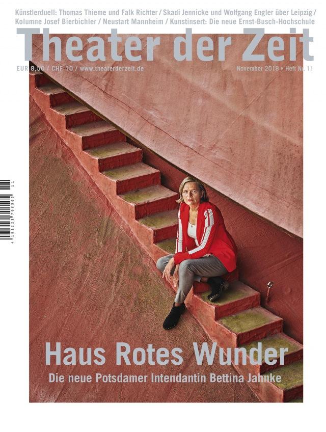 Theater der Zeit 11/2018