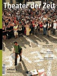 Theater der Zeit 09/2003