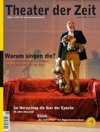 Theater der Zeit 01/2009