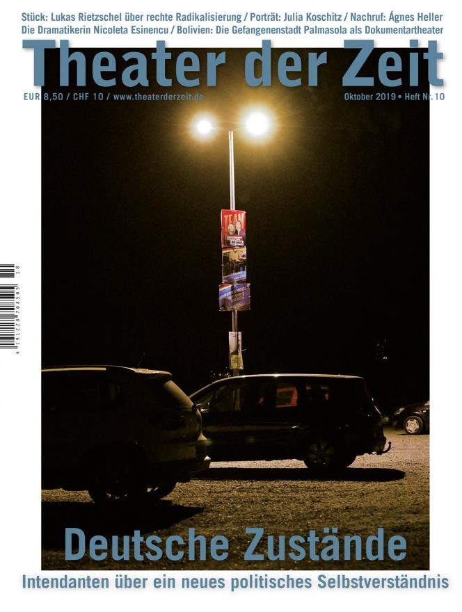Theater der Zeit 10/2019