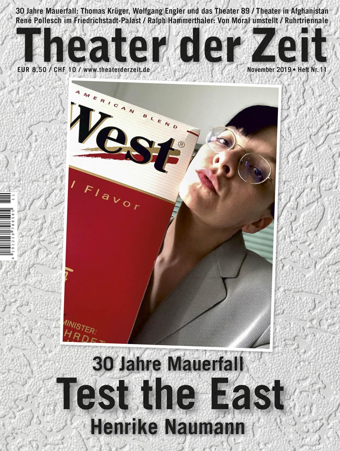 Theater der Zeit 11/2019