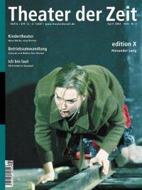 Theater der Zeit 04/2003