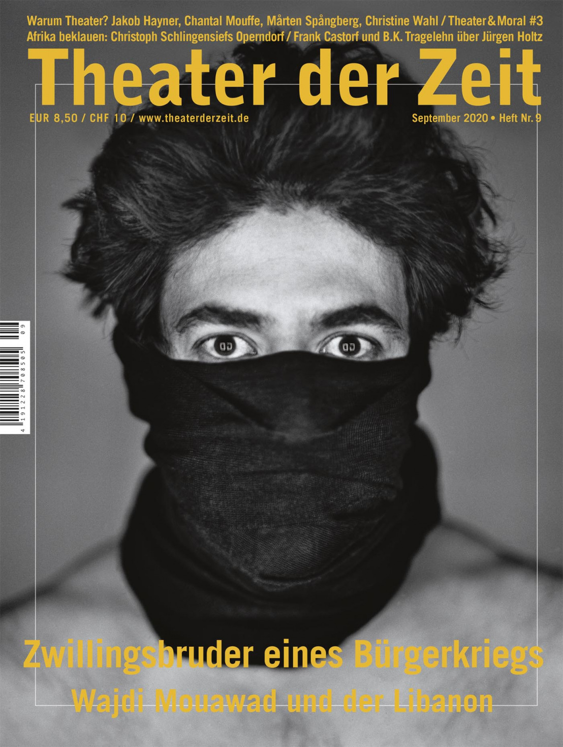 Theater der Zeit 9/2020