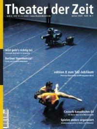 Theater der Zeit 01/2003