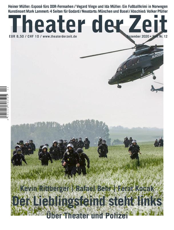 Theater der Zeit 12/2020