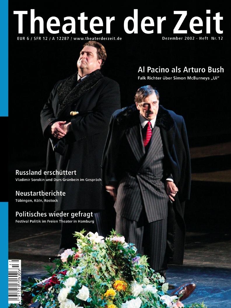 Theater der Zeit 12/2002