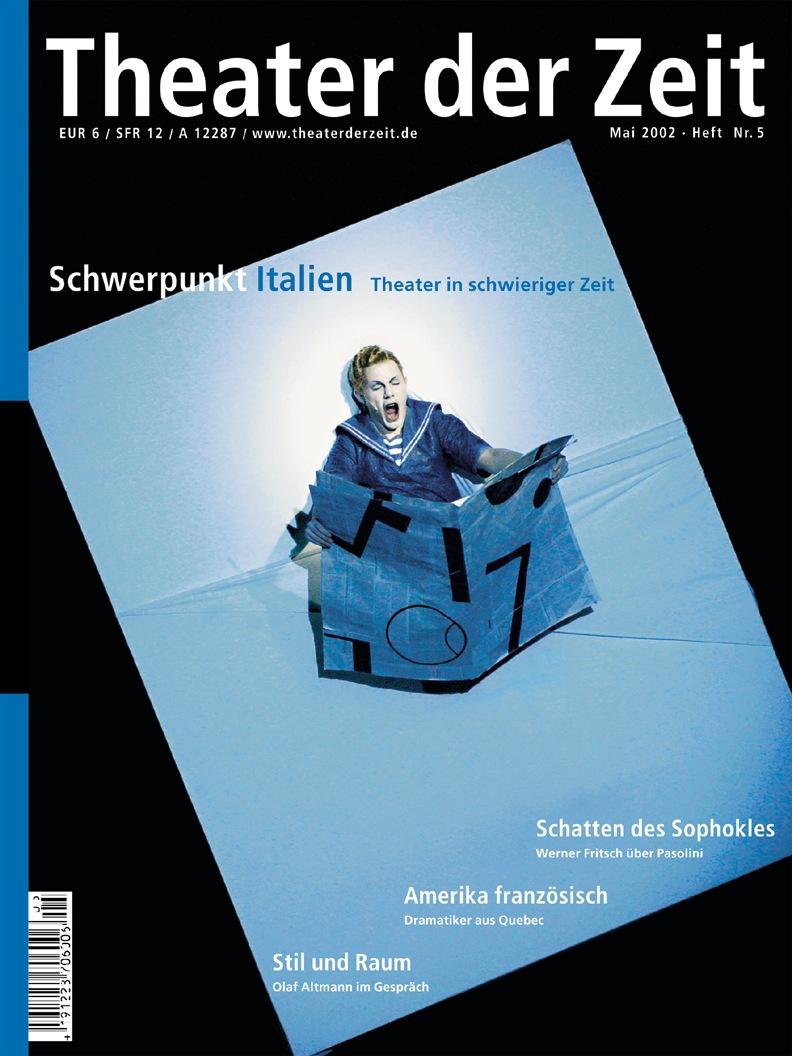 Theater der Zeit 05/2002
