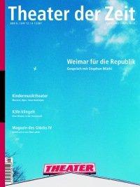 Theater der Zeit 04/2002