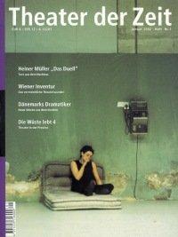 Theater der Zeit 01/2002