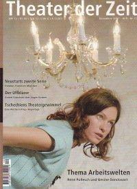 Theater der Zeit 12/2001