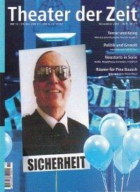 Theater der Zeit 11/2001
