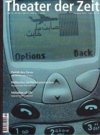 Theater der Zeit 10/2001