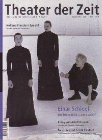 Theater der Zeit 09/2001
