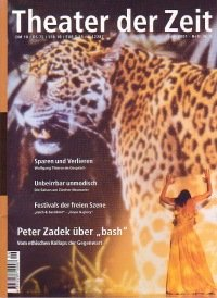 Theater der Zeit 06/2001