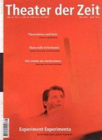 Theater der Zeit 05/2001