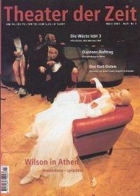 Theater der Zeit 03/2001