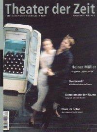 Theater der Zeit 01/2001