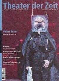 Theater der Zeit 12/2000