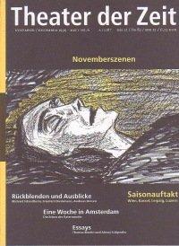 Theater der Zeit 11/1999