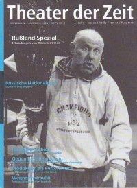Theater der Zeit 09/1999
