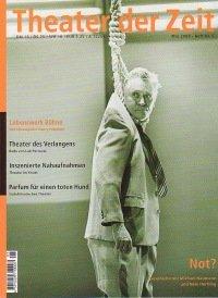 Theater der Zeit 05/2000