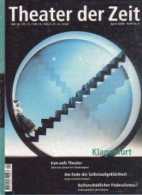 Theater der Zeit 04/2000