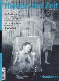 Theater der Zeit 03/2000