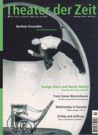 Theater der Zeit 02/2000