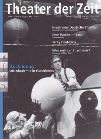Theater der Zeit 03/1999