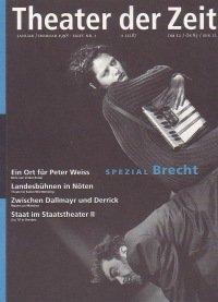 Theater der Zeit 01/1998