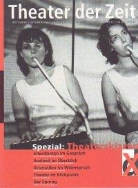 Theater der Zeit 09/1997