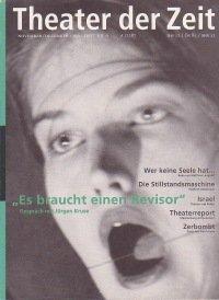 Theater der Zeit 11/1996