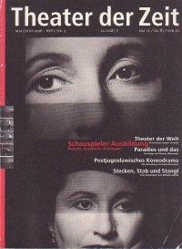 Theater der Zeit 05/1996