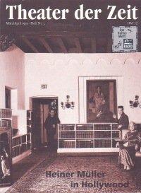 Theater der Zeit 03/1995
