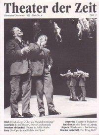 Theater der Zeit 11/1993