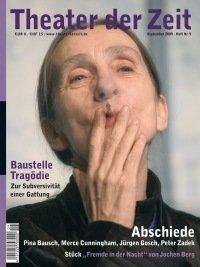 Theater der Zeit 09/2009