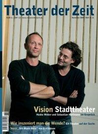 Theater der Zeit 11/2009