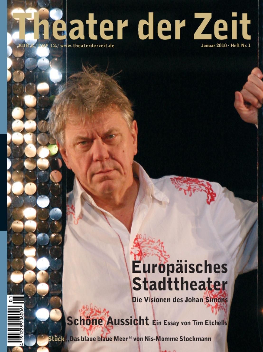 Theater der Zeit 01/2010