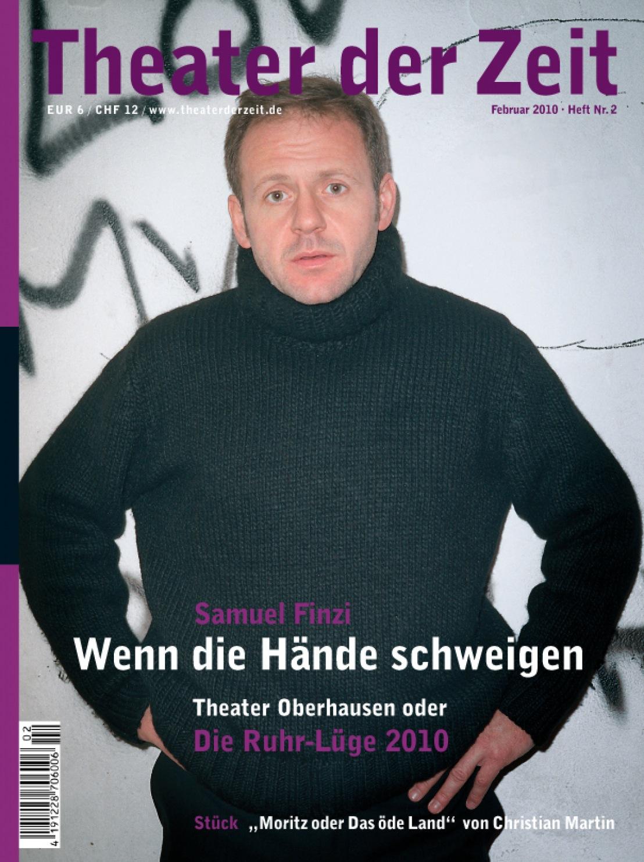 Theater der Zeit 02/2010
