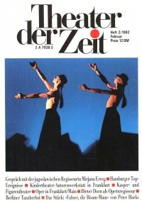 Theater der Zeit 02/1992