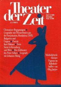 Theater der Zeit 12/1991