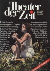 Theater der Zeit 11/1991