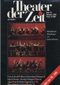Theater der Zeit 10/1991