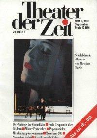 Theater der Zeit 09/1991