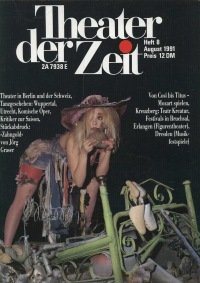 Theater der Zeit 08/1991