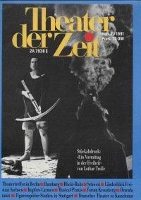 Theater der Zeit 07/1991